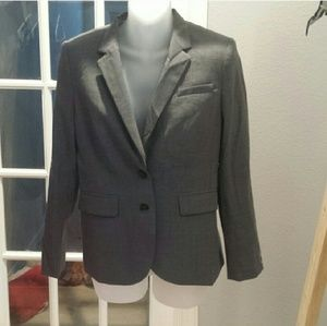 Grey banana republic suit Jacket